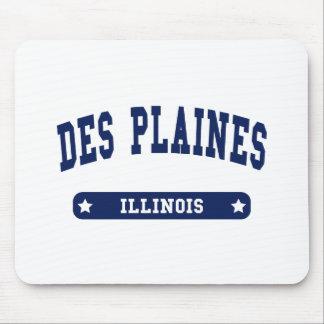 Tee - shirts de style d'université de Des Plaines  Tapis De Souris