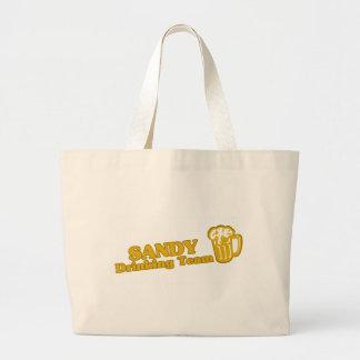 Tee - shirts potables d équipe de Sandy Springs Sac En Toile