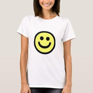 Tee - shirts souriants de visage t-shirt