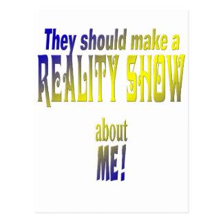 Télé réalité carte postale