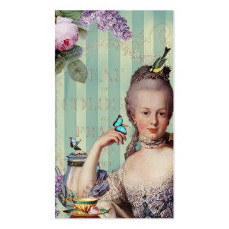 Télécarte de Trianon d Au de Thé petite Modèle De Carte De Visite