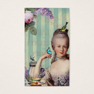 Télécarte de Trianon d'Au de Thé petite Cartes De Visite