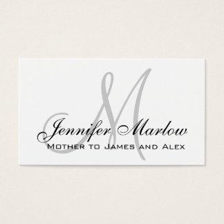 Télécarte faite sur commande de maman de cartes de visite