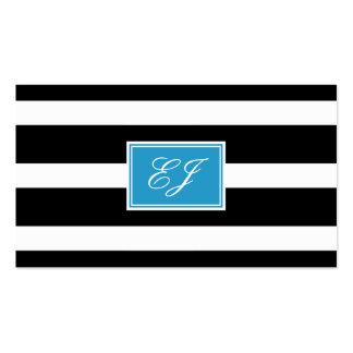 Télécarte magnifique d'initiales carte de visite standard