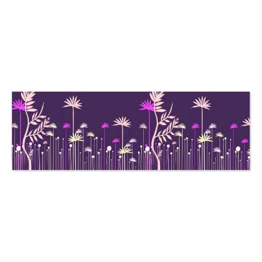 Télécarte moderne de maman de fleurs modèles de cartes de visite