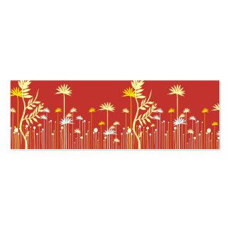 Télécarte moderne de maman de fleurs carte de visite petit format