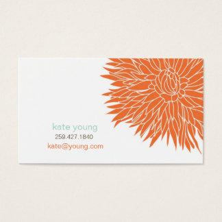 Télécarte orange de maman cartes de visite