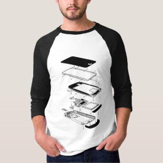 Téléphone 3GS éclaté T-shirt