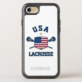 Téléphone de lacrosse des Etats-Unis Coque Otterbox Symmetry Pour iPhone 7