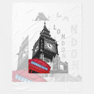 Téléphone de rouge de Londres Big Ben