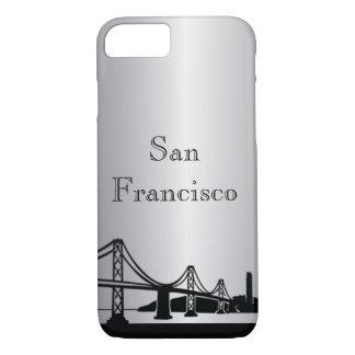 Téléphone et coques ipad argentés de silhouette de coque iPhone 7