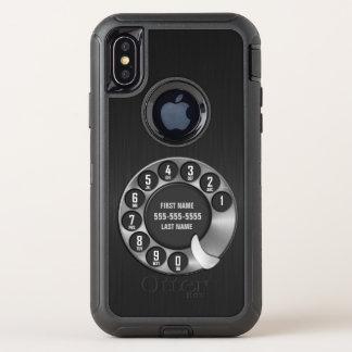 Téléphone rotatoire de vieille école