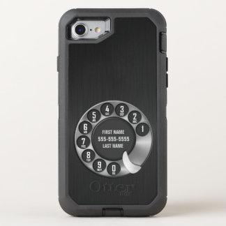 Téléphone rotatoire de vieille école coque otterbox defender pour iPhone 7