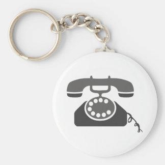 Téléphone rotatoire porte-clés