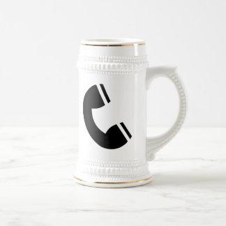 Téléphone vintage mugs à café