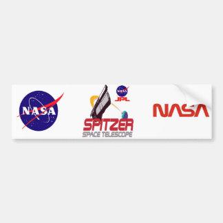 Télescope spatial de Spitzer Autocollant De Voiture