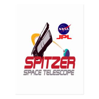 Télescope spatial de Spitzer Carte Postale