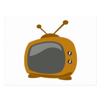 Télévision de Brown Carte Postale