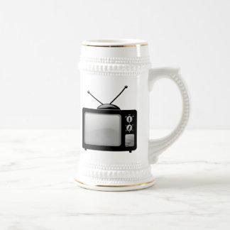 Télévision vintage mugs