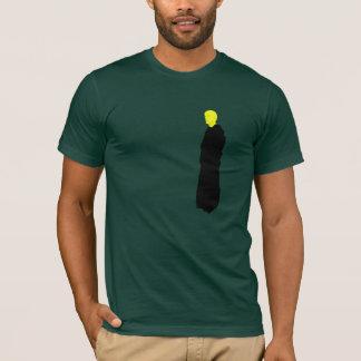 Témoin jaune de moine l'extrémité t-shirt