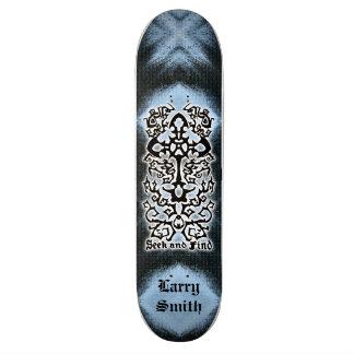 Temp. de nom de planche à roulettes de découverte skateboards personnalisables