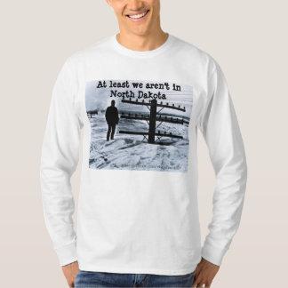 Tempête de neige dans le Dakota du Nord T-shirt