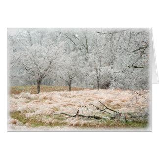 Tempête de pluie verglaçante Tennessee rural - Cartes