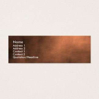 Tempête de sable martienne mini carte de visite