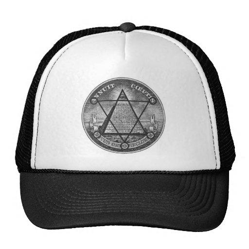 templar maçonnique casquette de camionneur