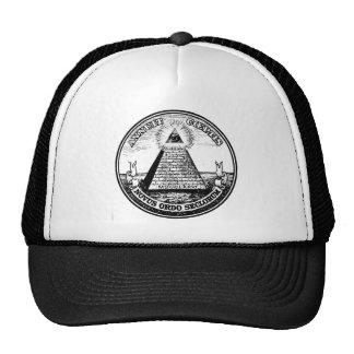 templar maçonnique casquettes de camionneur