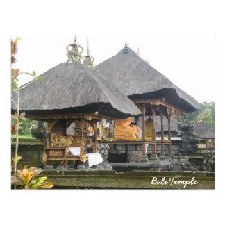 Temple de Bali Carte Postale