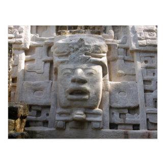 Temple de masque carte postale