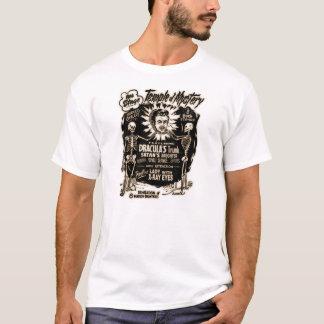 Temple de T-shirt d'affiche d'exposition de
