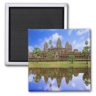 Temple du Cambodge, Kampuchea, Angkor Vat Aimants Pour Réfrigérateur