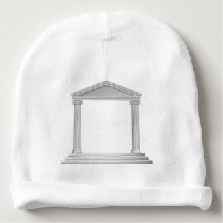 Temple grec de colonne bonnet de bébé