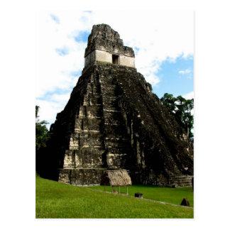 Temple I, Tikal, Guatemala Carte Postale
