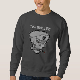TEMPLE inversé MRG - sweatshirt du crâne TXSG