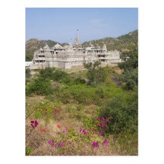 Temple Jain de Ranakpur, Ranakpur, Ràjasthàn, Inde Cartes Postales