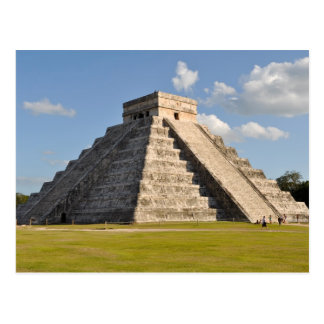 Temple maya de Chichen Itza au Mexique Cartes Postales
