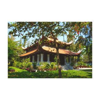 Temple vietnamien toile