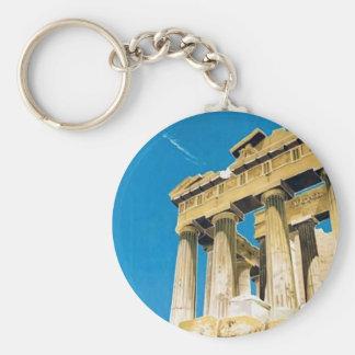 Temple vintage de parthenon d'Athènes Grèce de Porte-clés