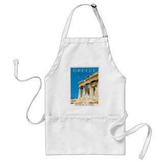 Temple vintage de parthenon d'Athènes Grèce de Tablier