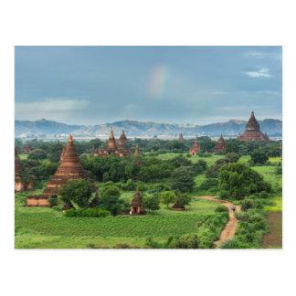 Temples dans Bagan, Myanmar Carte Postale