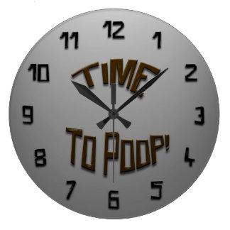 Temps à la dunette ! Horloge