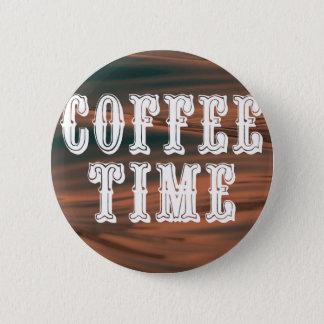 Temps de café pin's