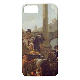 Temps de carnaval à Rome, 1653 (huile sur la Coque iPhone 7