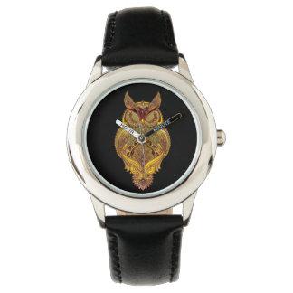 Temps de hibou montres bracelet