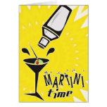 Temps de Martini (carte vierge/personnaliser)