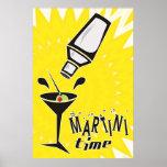 Temps de Martini Posters