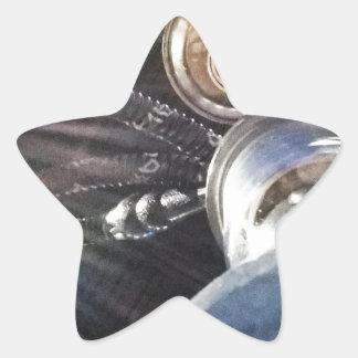 Temps de narguilé stickers en étoile